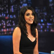 NEW YORK, NY - FEBRUARY 19: Cecily Strong visits