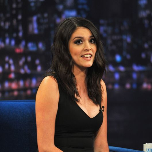 "NEW YORK, NY - FEBRUARY 19:  Cecily Strong visits ""Late Night With Jimmy Fallon"" at Rockefeller Center on February 19, 2013 in New York City.  (Photo by Theo Wargo/Getty Images)"
