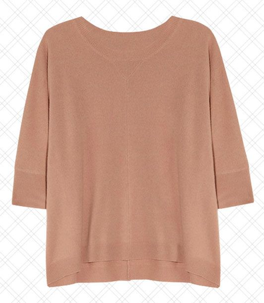 "Simple yet luxe cashmere tops are a must, even if it's just to throw on post-yoga.    <i>$860 at <a href=""http://www.net-a-porter.com/product/310282"">Net-a-Porter</a></i>"
