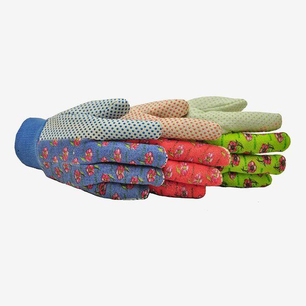 G&F Women Soft Jersey Garden Gloves