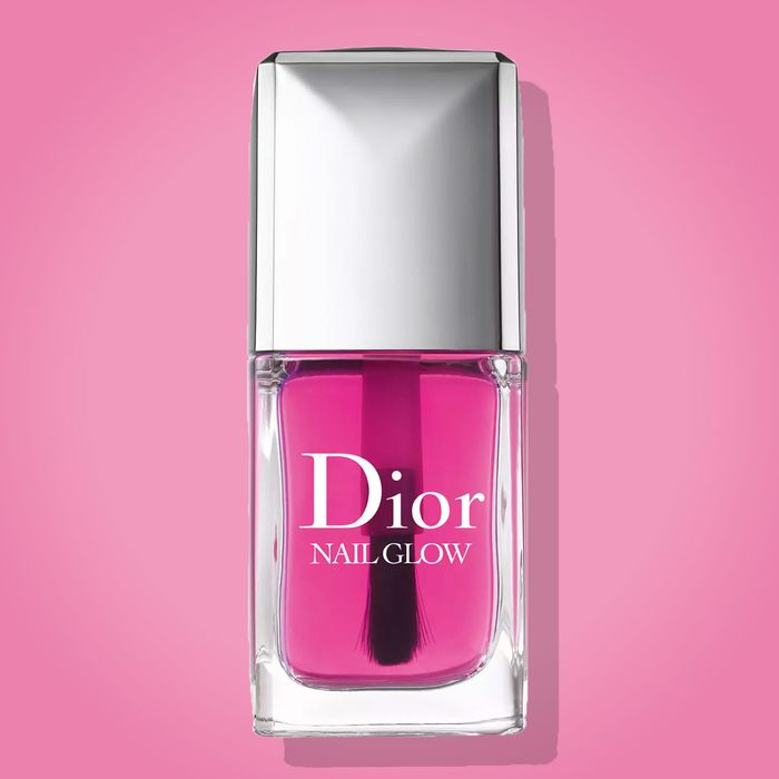 Dries Clear But Rosy Making Your Nails Both Pinker And Whiter