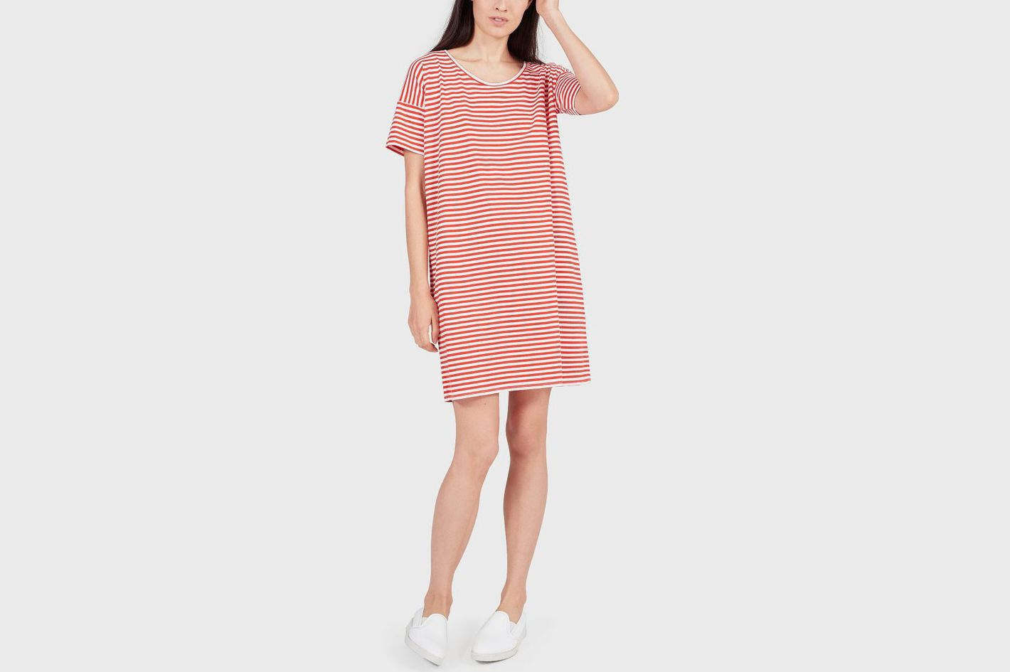 Cotton Striped Dress
