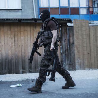 Anti-terror operation against Daesh in stanbul