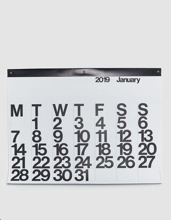 Stendig Calendar 2019