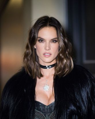 Alessandra Ambrosio didn't always have fun.