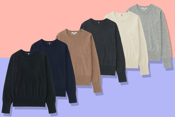 Women Cashmere Crewneck Sweater