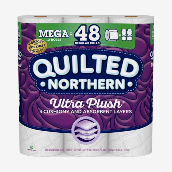 Quilted Northern Ultra Plush Toilet Paper (12 Mega Rolls)