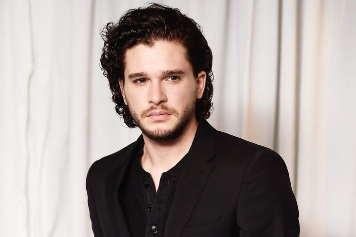 Kit Harington, possibly thinking about work.