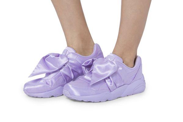PUMA x FENTY by Rihanna Lavender Bow Sneakers
