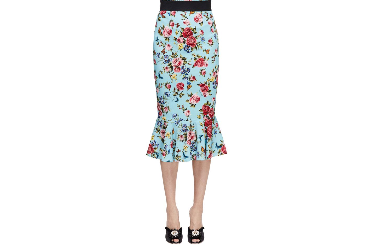 Dolce & Gabbana Rose Skirt