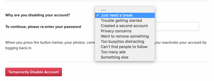 how to permanently delete instagram searches
