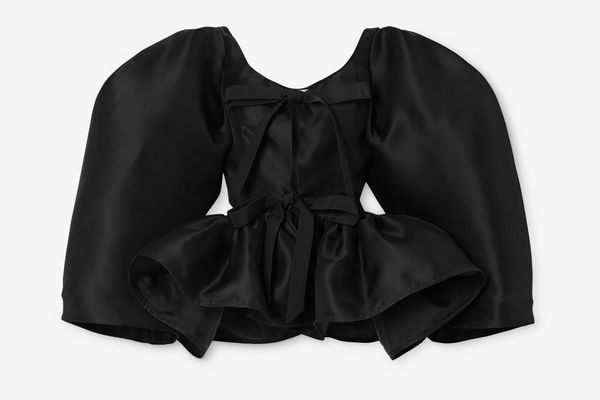 Christopher John Rogers Tie-front Blouse