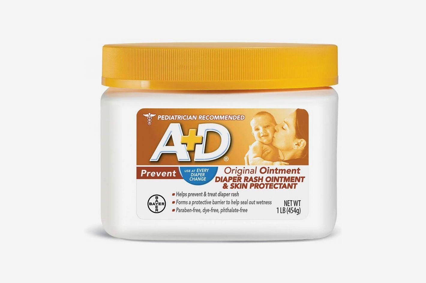 A+D Original Diaper Rash Ointment, 16 oz.