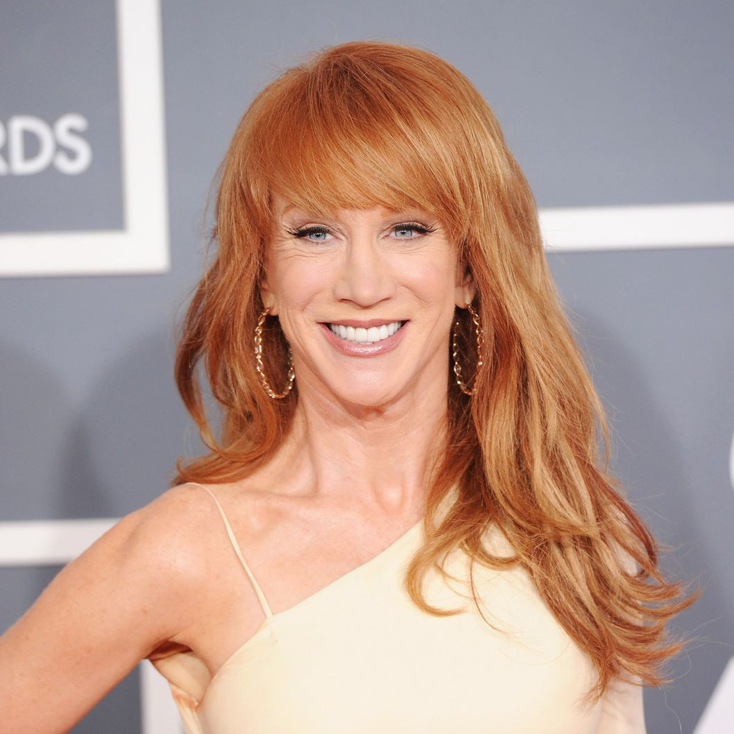 Kathy Griffin Fashion Police Episode 1 Comedian Kathy Griffin arrives