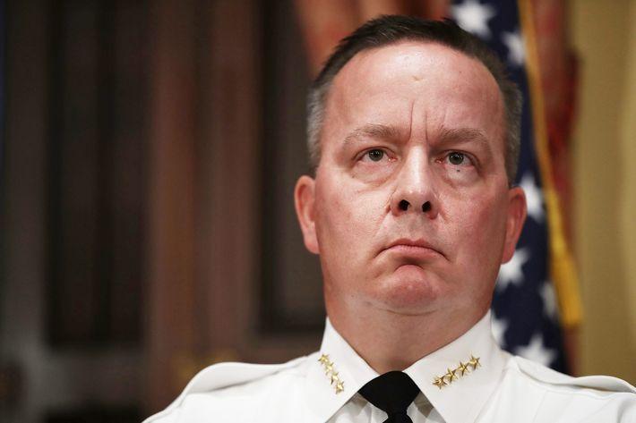 Baltimore Police Department Commissioner Kevin Davis