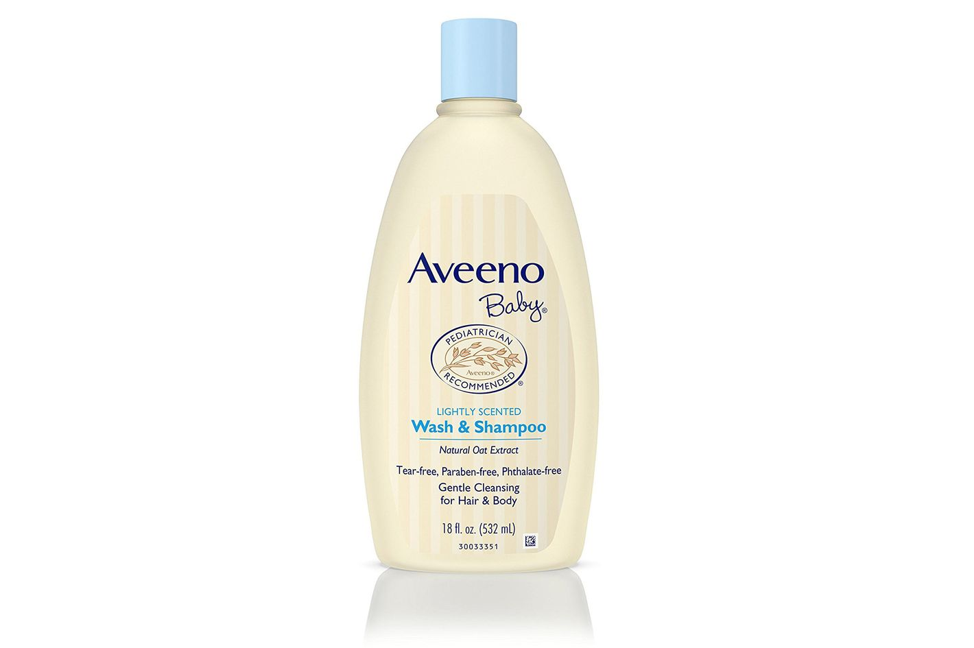 Aveeno Baby Wash & Shampoo for Hair & Body, Tear-Free