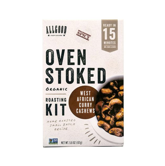 Allgood Provisions Roasted West African Curry Cashews Kit