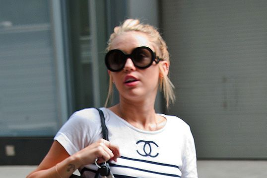 Miley in Manhattan.
