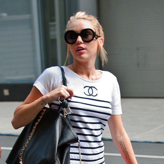 Miley in Manhattan.