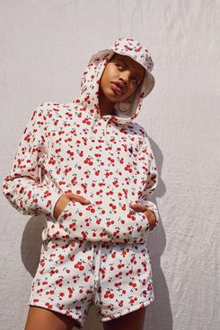 Champion + HVN for Urban Outfitters Cherry Hoodie Sweatshirt
