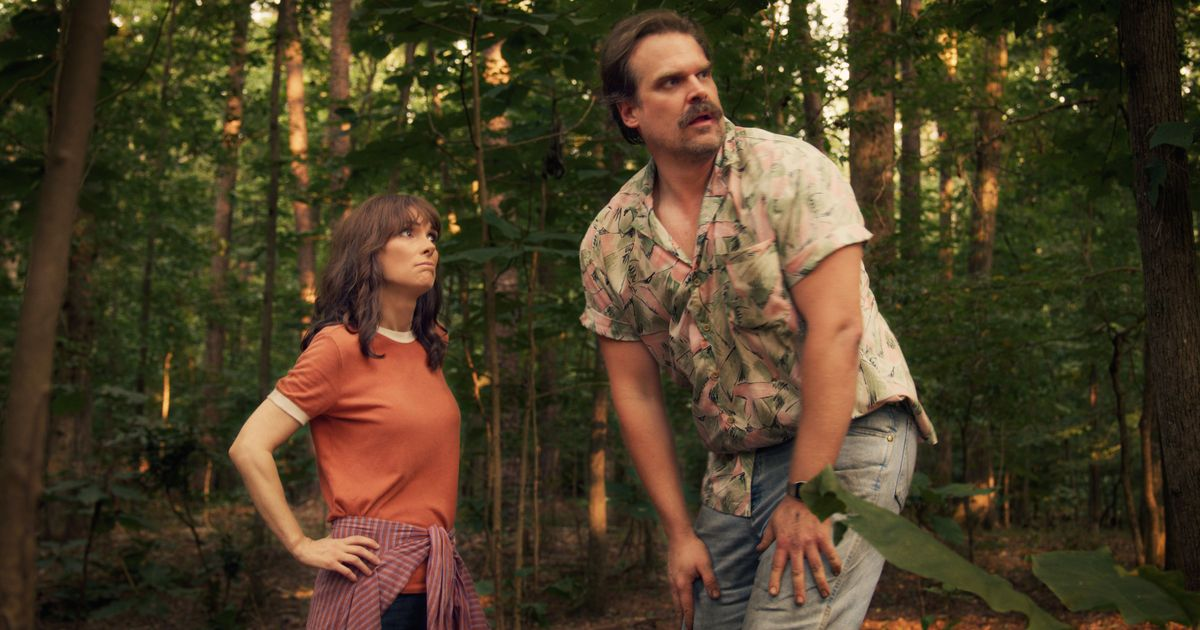 Stranger Things 3 All About Hopper S Floral Shirt