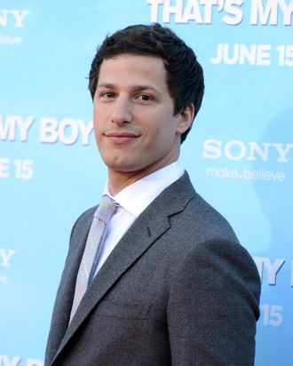 WESTWOOD, CA - JUNE 04: Actor Andy Samberg arrives at the premiere of Columbia Pictures'