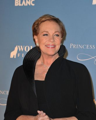 NEW YORK, NY - NOVEMBER 01: Julie Andrews attends MONTBLANC Launches Collection Princesse Grace De Monaco at the Princess Grace Awards Gala at Cipriani 42nd Street on November 1, 2011 in New York City. (Photo by Pascal Le Segretain/Getty Images for MONTBLANC)