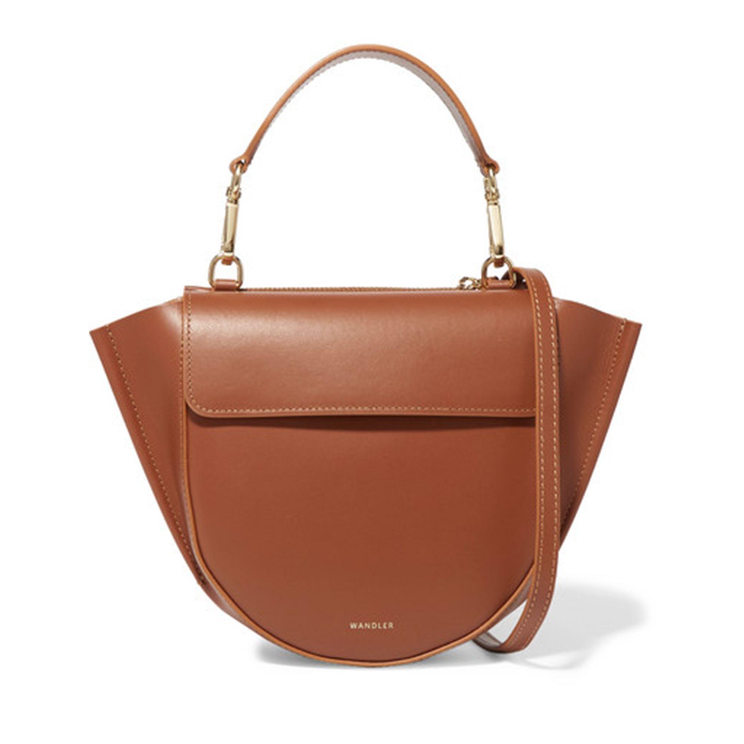 Hortensia mini leather shoulder bag