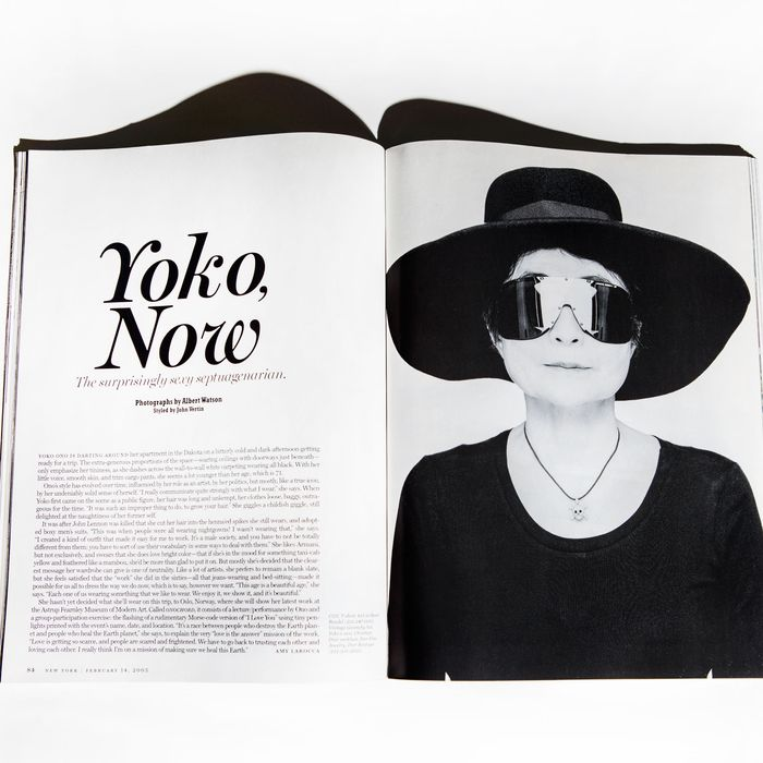 730db658a5ac Yoko Ono in New York