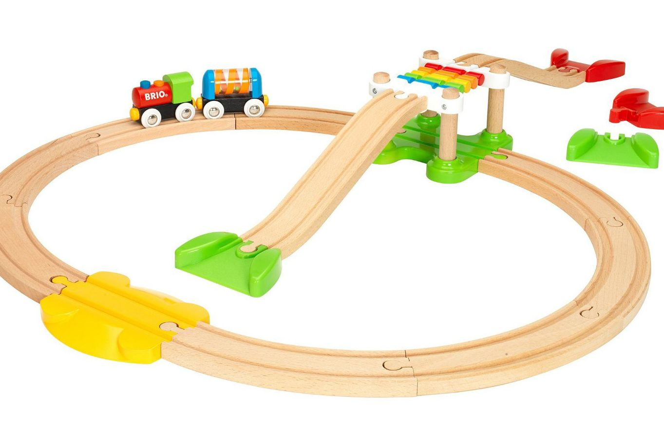 brio beginner train set best gifts for two year olds