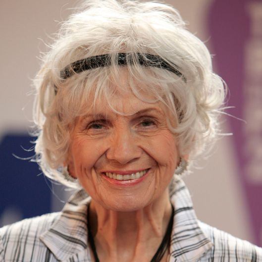 Canadian author Alice Munro