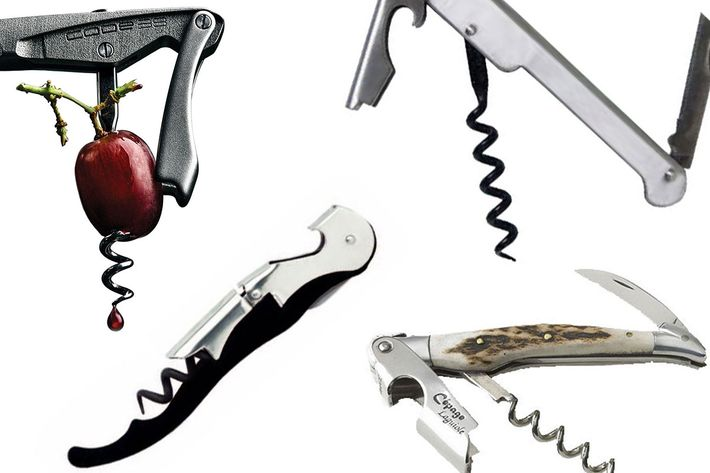 The Best Wine Opener Is an Ergonomic Stainless-Steel
