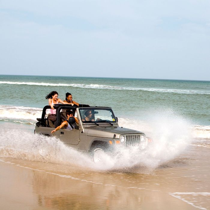 'Go Topless Jeep Weekend' Ends In Chaos In Galveston, Texas