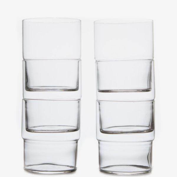 Toyo-Sasaki Glass 13 oz. Fino Stacking Glass (Set of 6)