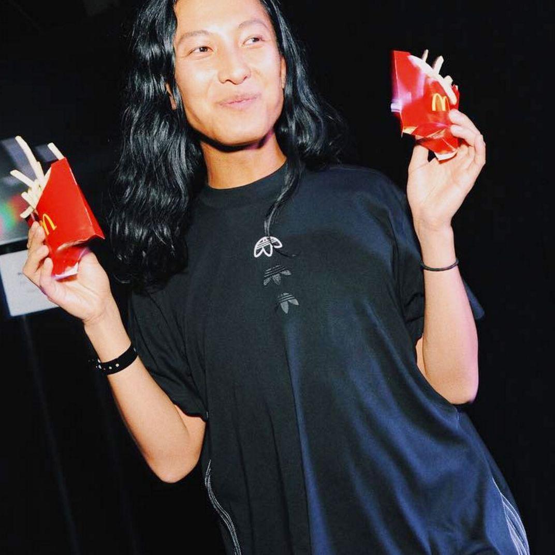 Mejor Mojado áspero  Alexander Wang Celebrated His Surprise Adidas Collab