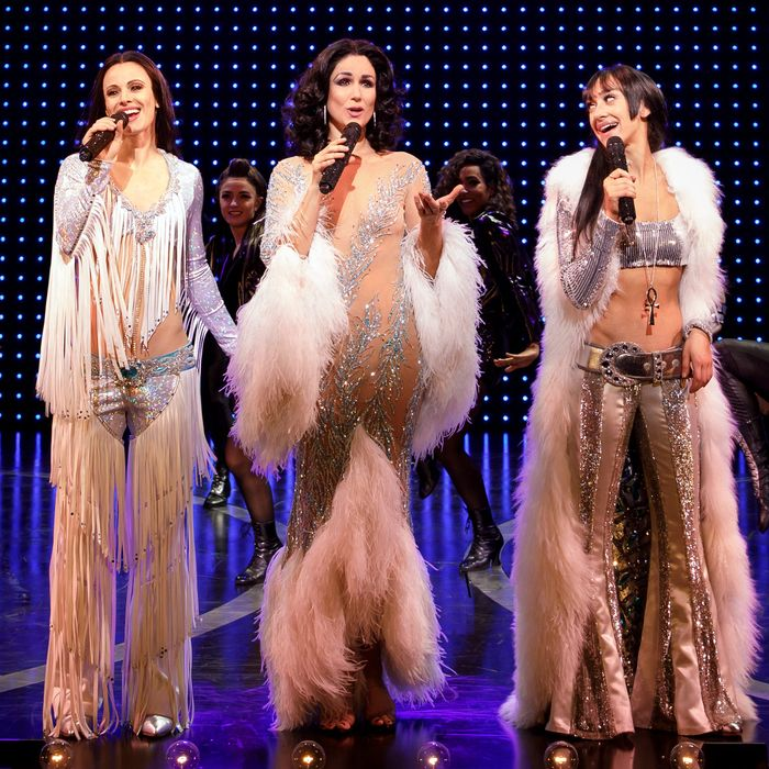 Theater Review How Over The Top Should The Cher Show Be