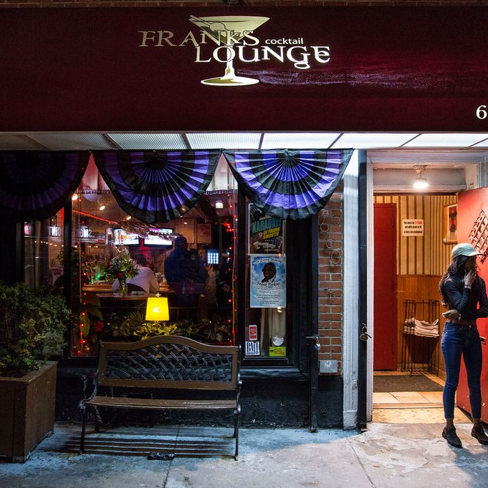 Rip Frank Perkins Of Franks Cocktail Lounge In Fort Greene
