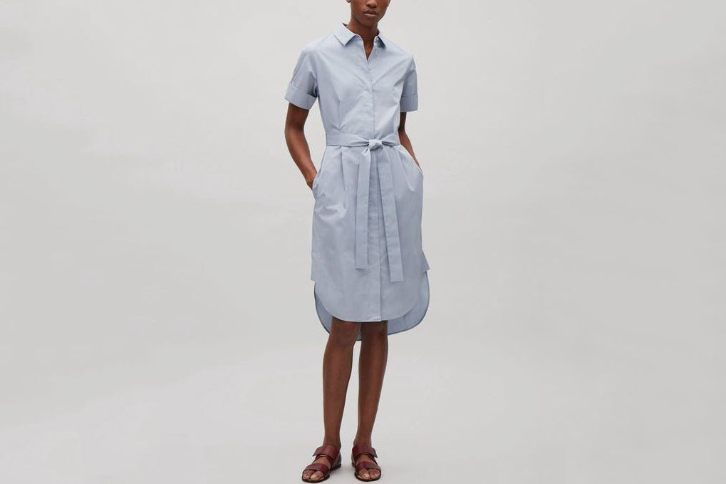 COS Belted Shirt Dress