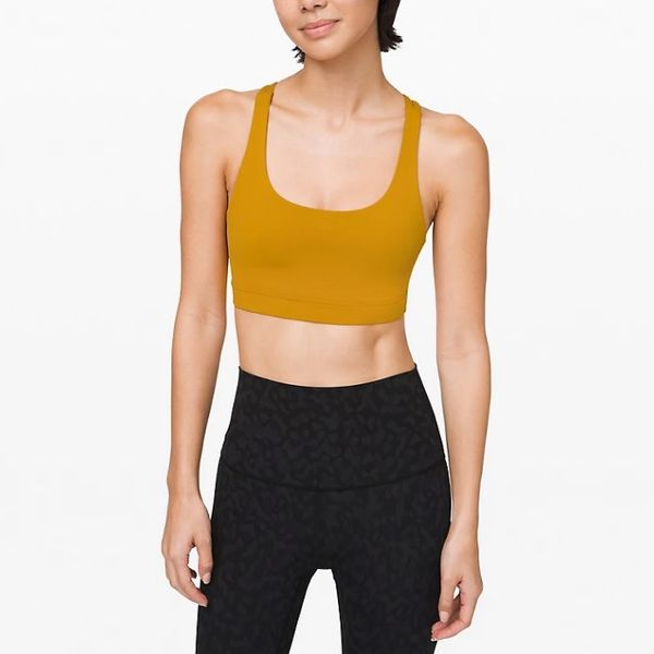 Lululemon Energy Bra with supportive criss-cross straps