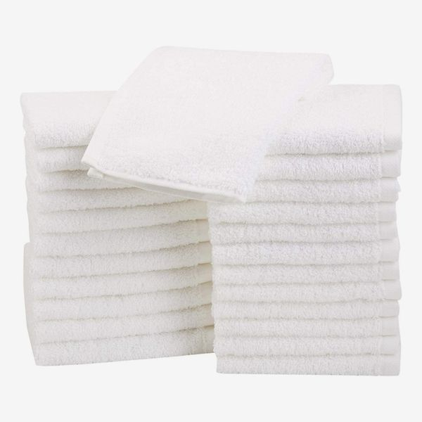 AmazonBasics Terry Cotton Washcloths