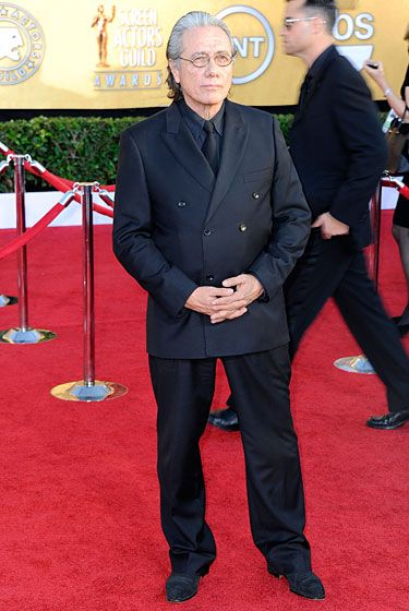 LOS ANGELES, CA - JANUARY 29:  Actor Edward James Olmos arrives at the 18th Annual Screen Actors Guild Awards at The Shrine Auditorium on January 29, 2012 in Los Angeles, California.  (Photo by Frazer Harrison/Getty Images)