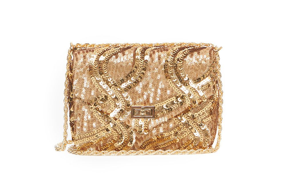 Cannes Sequin Shoulder Bag