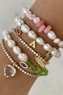 BONBONWHIMS Custom Pearl Drops Bracelet