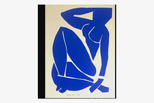 Henri Matisse Blue Nude Vintage 1991 Lithograph Print