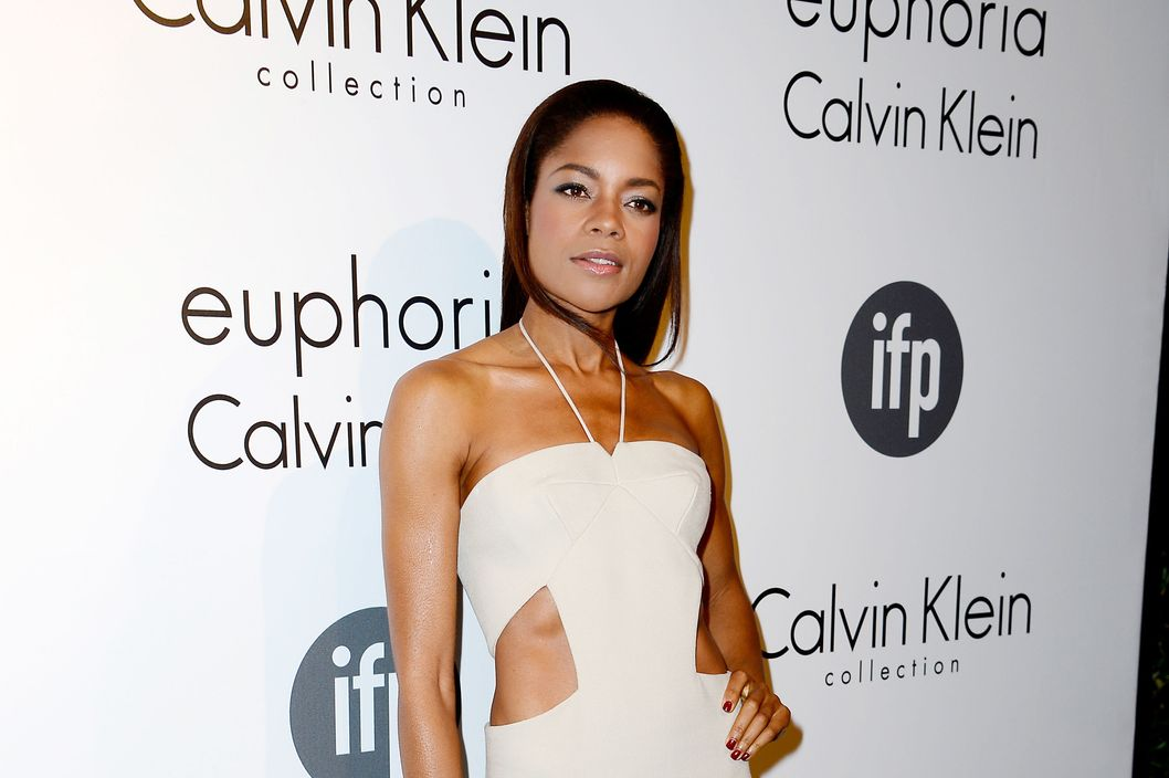 Actress Naomie Harris attends the The IFP, Calvin Klein Collection & Euphoria Calvin Klein Celebrate Women In Film At The 66th Cannes Film Festival on May 16, 2013 in Cannes, France.