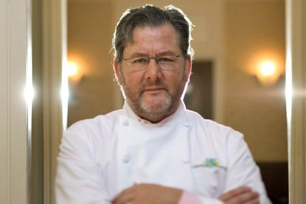 Chicago Chef Charlie Trotter, seen in this photo from August 27, 2012, has died. The 54-year-old chef was found unconscious and not breathing in his Lincoln Park home this morning and was taken to Northwestern Memorial Hospital, where he was pronounced dead. (Alex Garcia/Chicago Tribune/MCT)