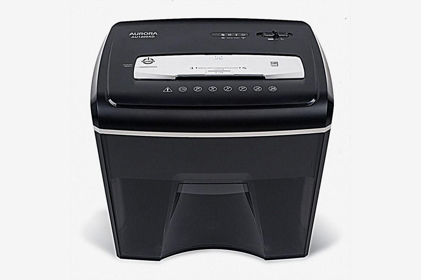 Aurora AU1200XD Compact Desktop-Style Basket Shredder