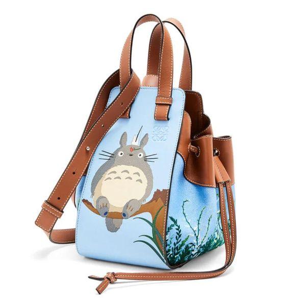Loewe Totoro Small Hammock Drawstring Bag