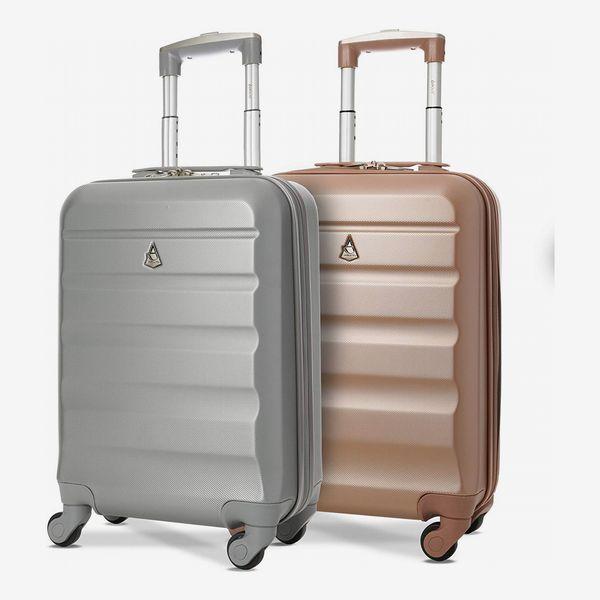Set of 2 Aerolite Hard Shell Travel Suitcase