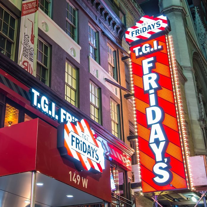 At least we still have the T.G.I. Fridays on West 46th Street (for now).